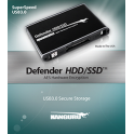 Kanguru Defender HDD - Disque Dur Crypté (FIPS 197)